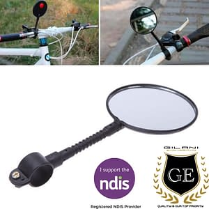 Detachable/Flexible Mirror For Wheelchairs & Mobility Scooter