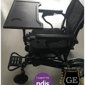 Detachable/Removable Wheelchair dining Tray