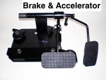 Driving pedals for Manual and Automatic vehicle free delivery