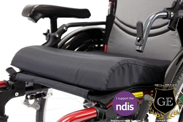 Comfort Electric and Manual wheelchair Seat Wheelchair Cushion, Contoured for extra support