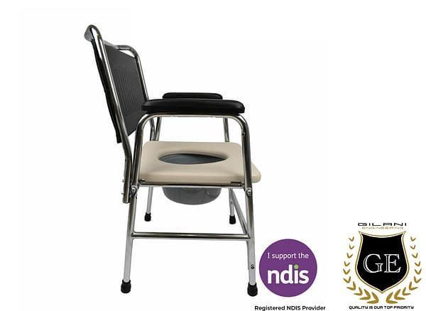 Commode Chair for Bathroom, shower, Toilet and Portable for Bedside home use