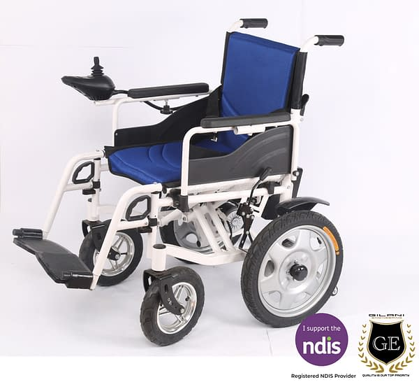 Electric and Manual Travel Wheelchair