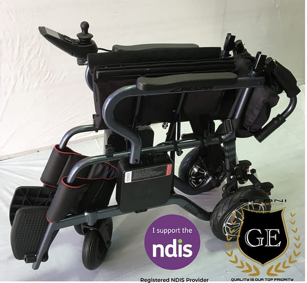 Light Compact Foldable Travel Electric and Manual Mobility Wheelchair