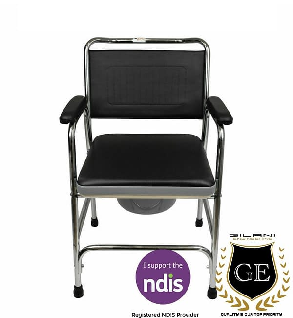 Commod chair for disable person