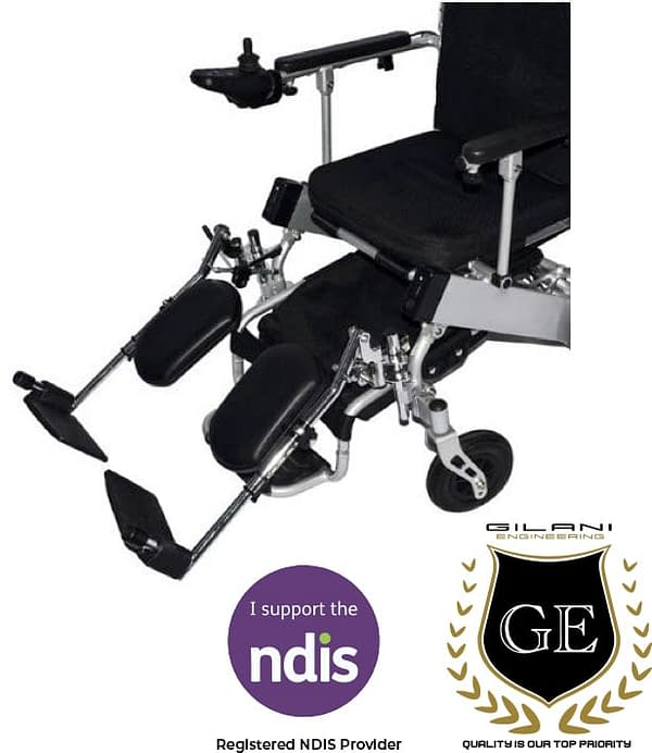 Leg Support & Leg Rest For Foldable electric wheelchair fits GED09 and GED05